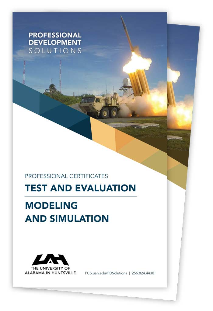 Modeling & Simulation and Test & Evaluation Brochure