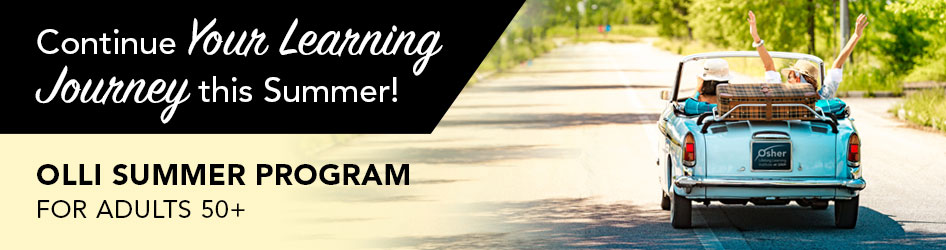 Continue Your Learning Journey this SummerI - Osher lifelong Learning Institute at UAH