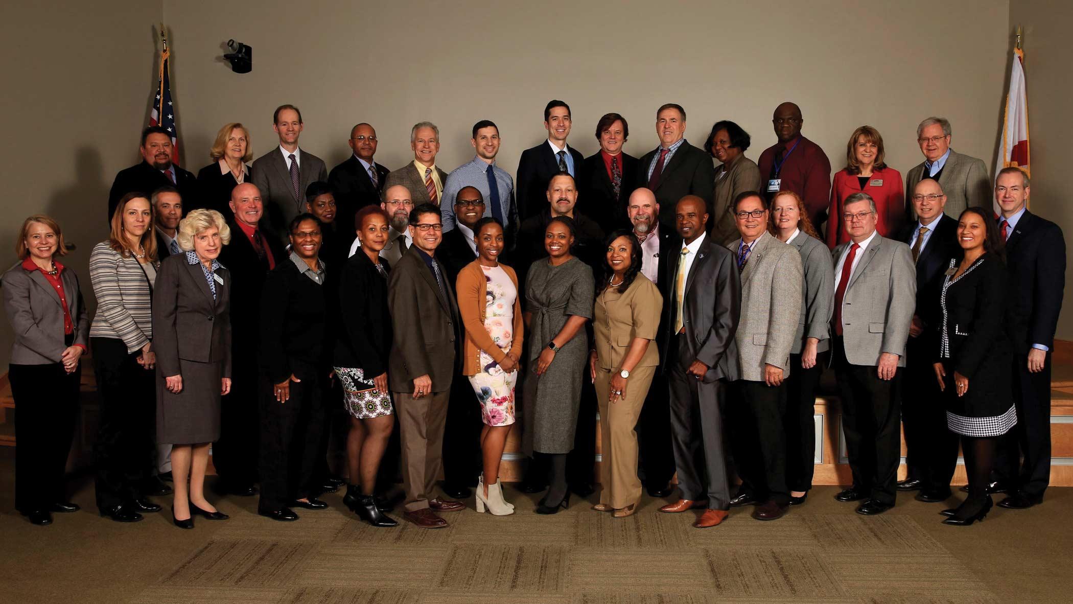 Graduates of Senior Logistician Advanced Course March 2018