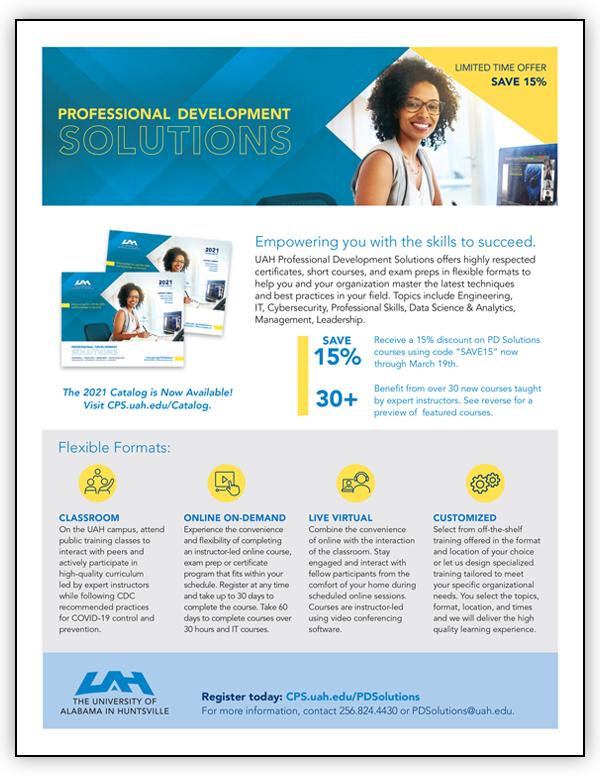 Professional Development Catalog - Current Term - Flyer