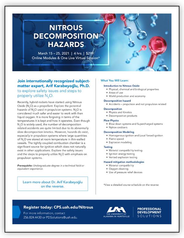 Nitrous Decomposition Hazards