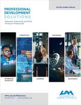 Professional Development Catalog - Previous Term